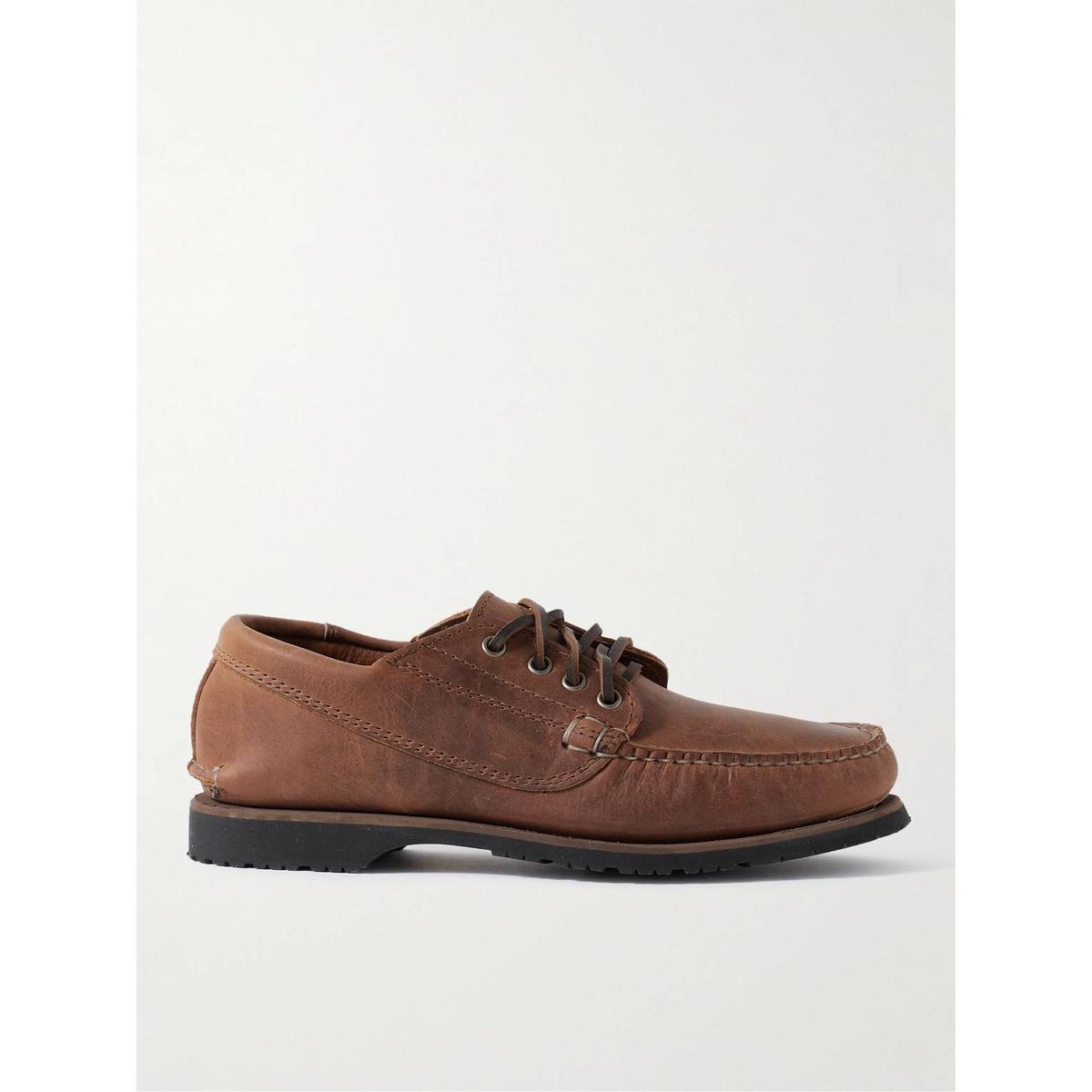 代购Quoddy Maliseet 550 皮质船鞋男2021新款奢侈品舒适时尚低帮
