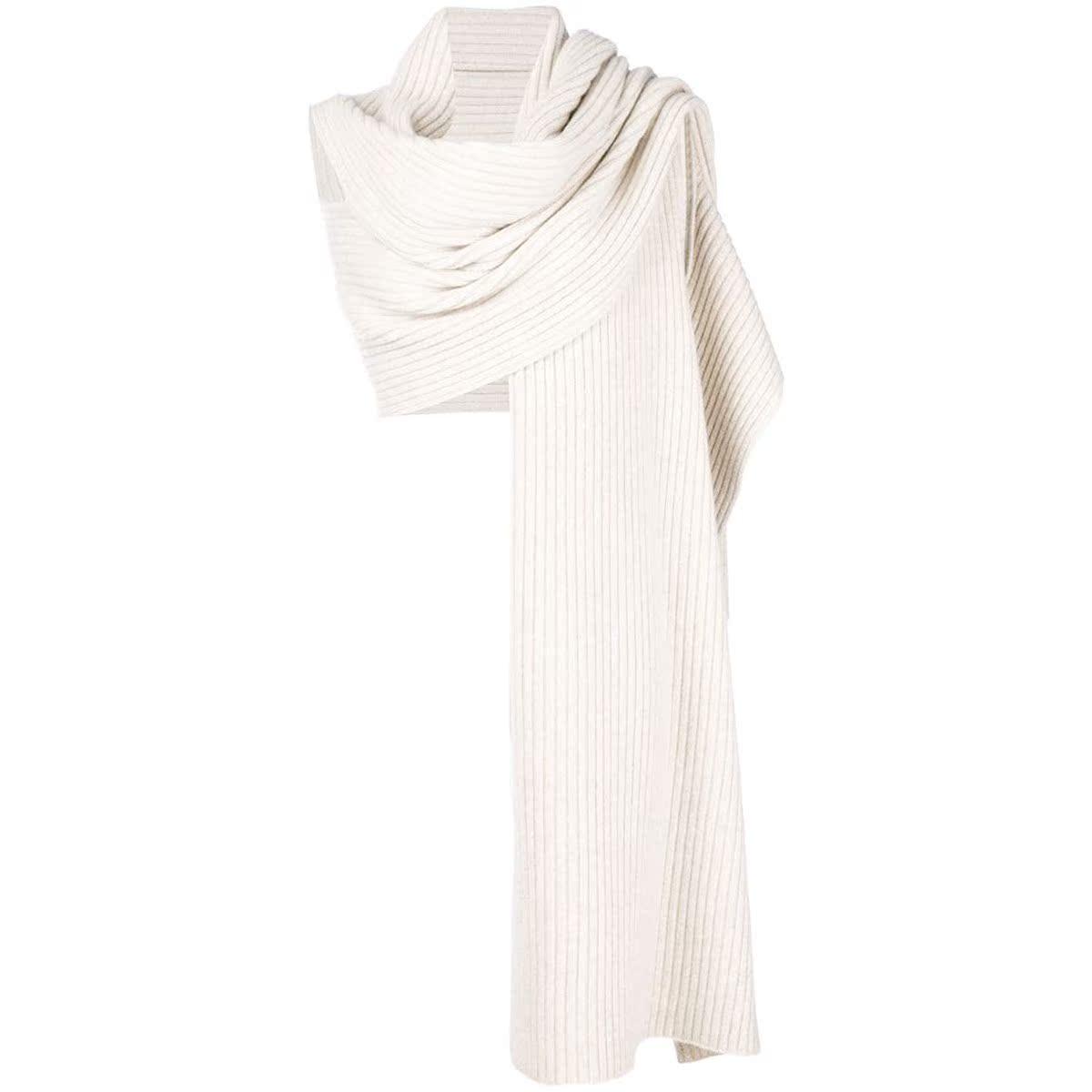 代购Pringle Of Scotland 罗纹裹身式围巾女2021新款奢侈品