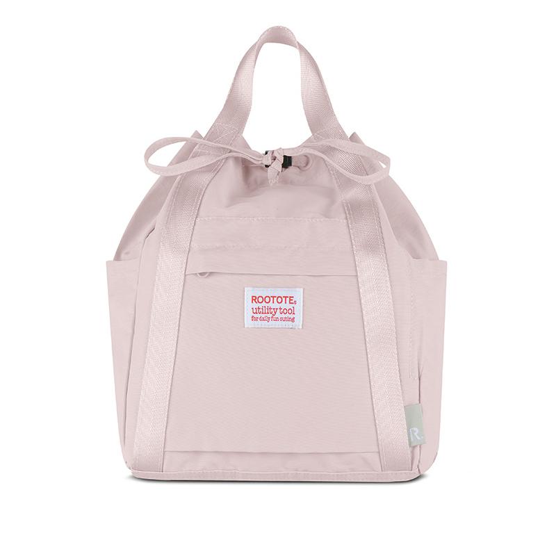 Japanese ROOTOTE backpack womens single shoulder canvas bag portable tote bag womens backpack high capacity schoolbag fashion brand