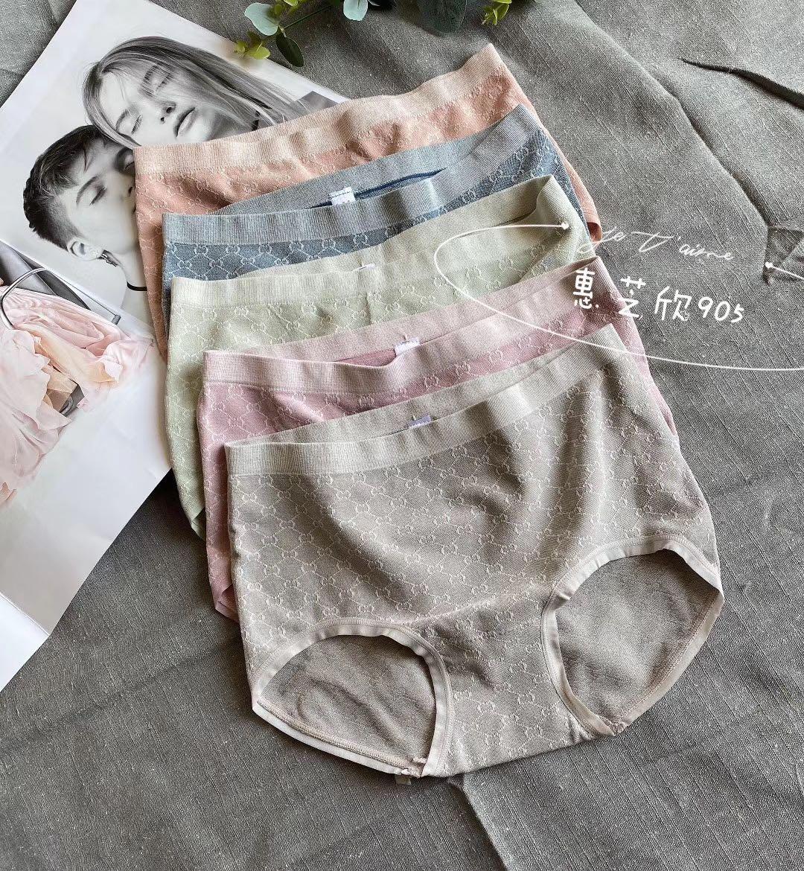 女性の逸品のプリントのパンツの女性の純綿の股の抗菌はお尻の中を包んで腰の傷がなくてシームレスです。