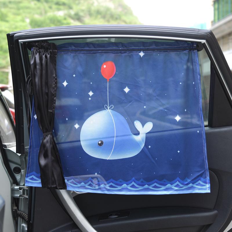 Автомобиль использование ребенок солнцезащитный крем занавес мультики протяжение боковые окна общий тени присоска темно изоляция затенение занавес