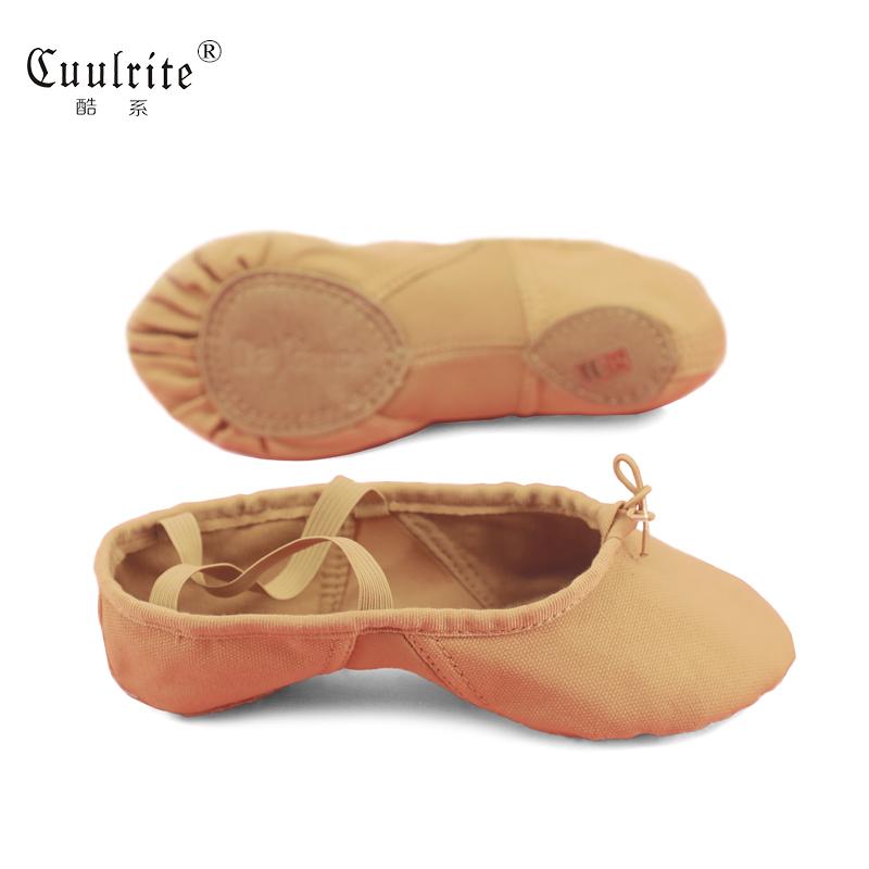 舞蹈鞋女成人軟底練功鞋跳舞貓爪形體芭蕾民族中國舞鞋男帆布透氣