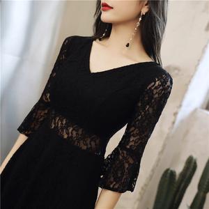 小黑裙女夏2021年新款时尚连衣裙