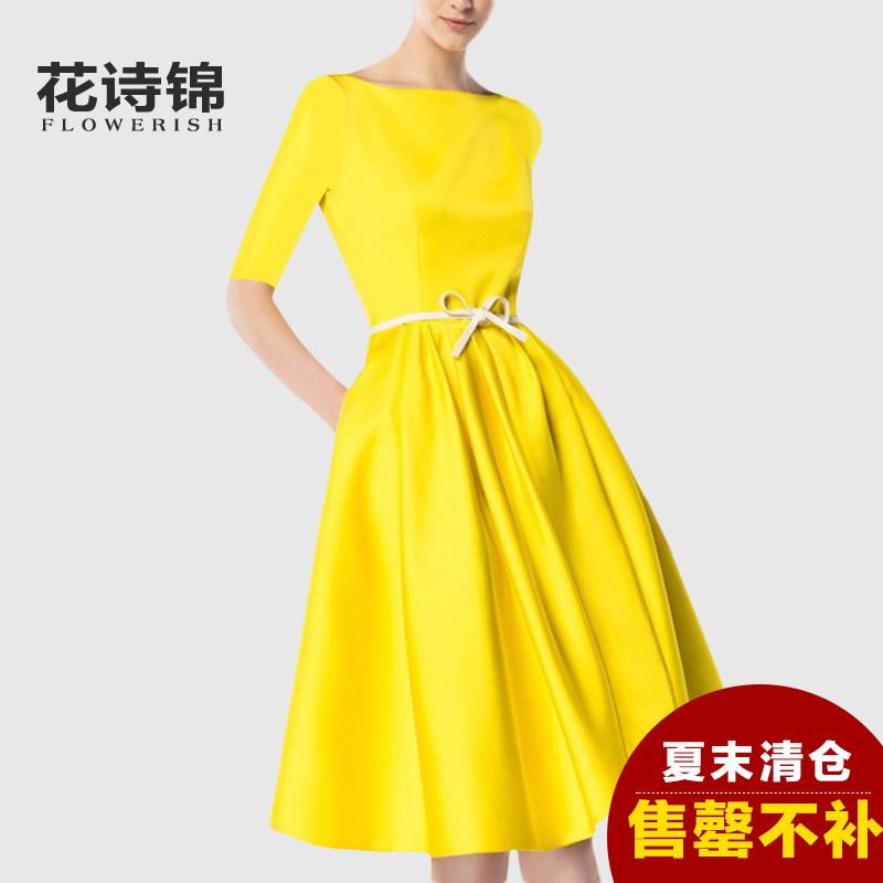 连衣裙女夏收腰短袖是假货吗