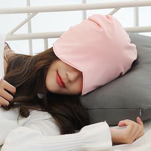 睡帽女时尚可爱遮眼防风月子帽秋冬产后保暖套头帽潮流简约包头帽  券后21
