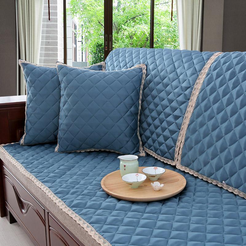 券后52.00元世纪家纺 沙发垫四季通用布艺简约现代全包凉席垫夏季凉坐垫