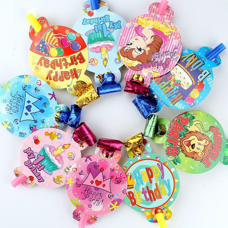 儿童生日派对玩具吹龙卷玩具伸缩口哨大号吹吹卷哨子派对吹胡子卷