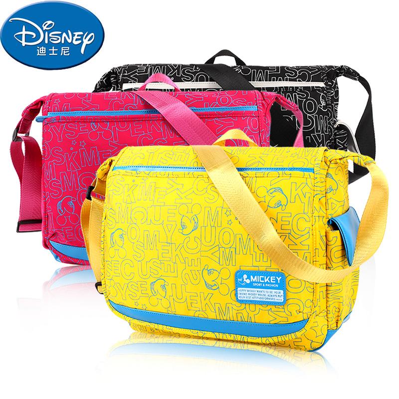 迪士尼小學生書包男單肩包1~3~6年級兒童斜挎包 包女童斜跨包