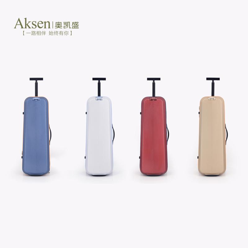aksen奥凯盛羽毛球拉杆箱 时尚运动拉箱高端拉链羽毛球拍行李箱子