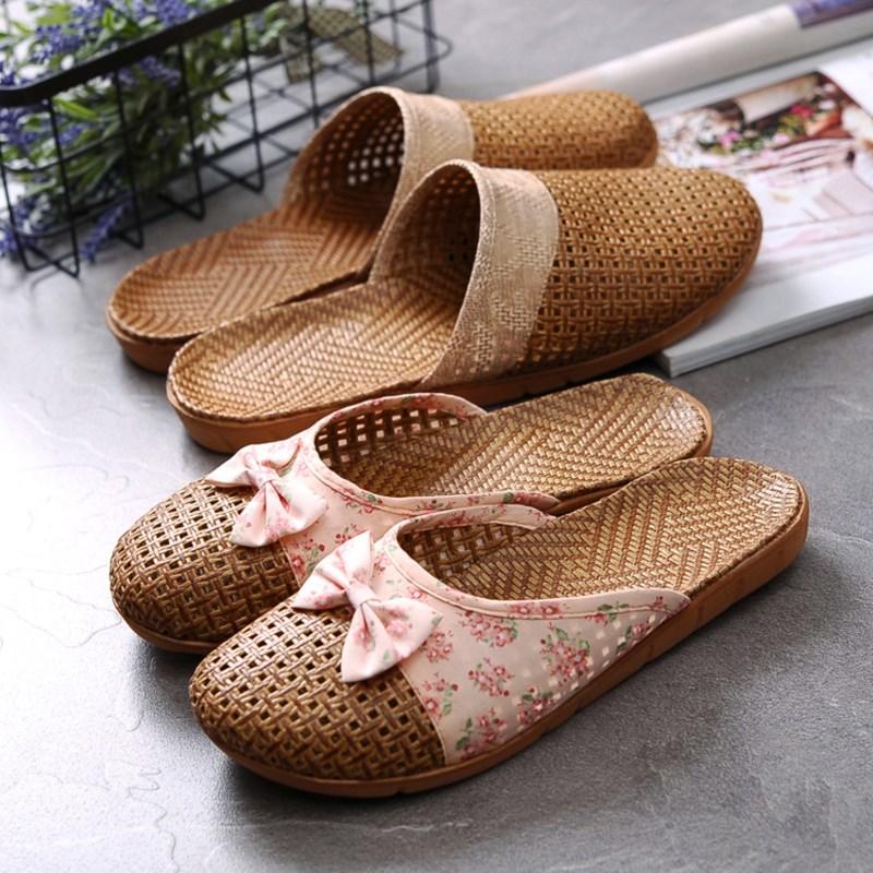 手工编织拖鞋\亚麻\竹藤编织拖鞋\居家草鞋\女鞋男鞋\凉拖鞋夏季