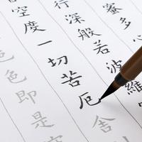 Южная страна книга ладан кисть словечко трафарет слово заметка будда после сутра сердца копия после это для взрослых сюаньчэнская бумага каллиграфия начиная гонконг лицо копия
