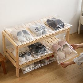 鞋子收纳袋子鞋袋子装鞋子的收纳袋旅行神器便携鞋袋防尘透明鞋包