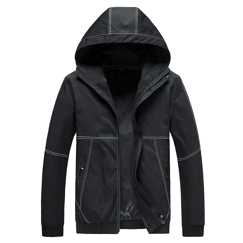 Playboy mens coat 2020 new spring clothes Korean version Large Plush spring and autumn mens jacket mens clothes