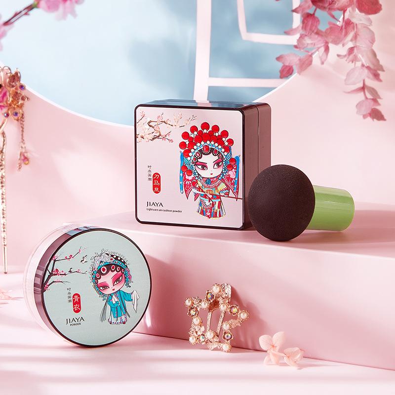 中国风彩妆套装气bb霜口红定妆粉睫毛膏高光液化妆品套盒可代发