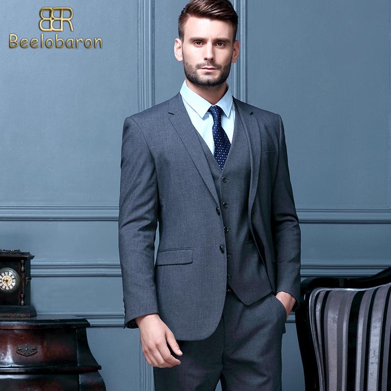 品牌男装男西装商务伴郎服新郎三件套西服支持个人单位定制与团购