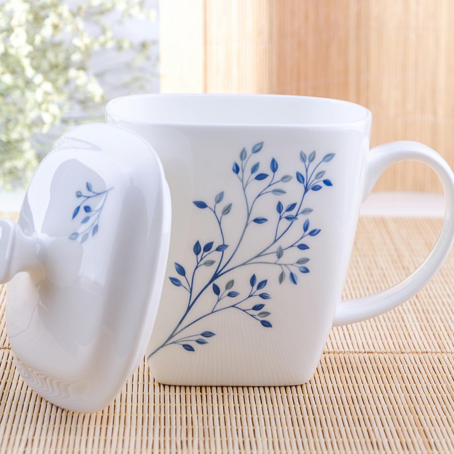 簡約陶瓷杯 情侶水杯骨瓷馬克杯帶蓋勺杯子陶瓷杯咖啡杯茶杯