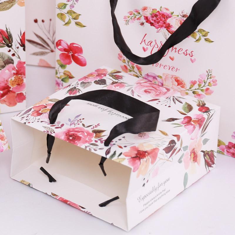 韩版高档纸质定制婚庆纸质礼品袋手提袋服装包装袋 购物袋