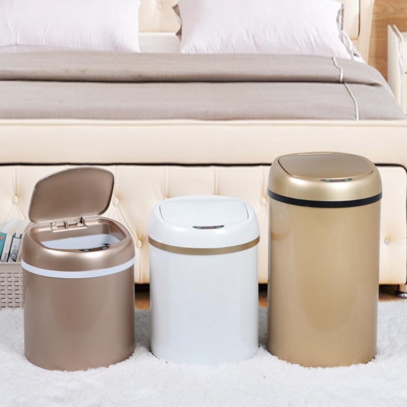 BAOPHILI/宝菲力智能感应式垃圾桶创意大号办公室桶家用桶客厨卫
