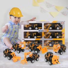 工程车玩具一套3辆车