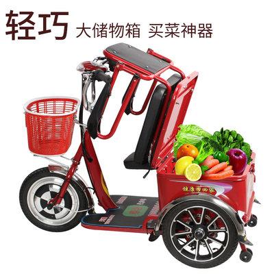 电动三轮车老年人老人残疾人家用新款休闲小型代步车电瓶车三轮车