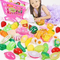Baby cut fruit vegetable cutting music childrens toy simulation set combination girl boy cut watermelon toy