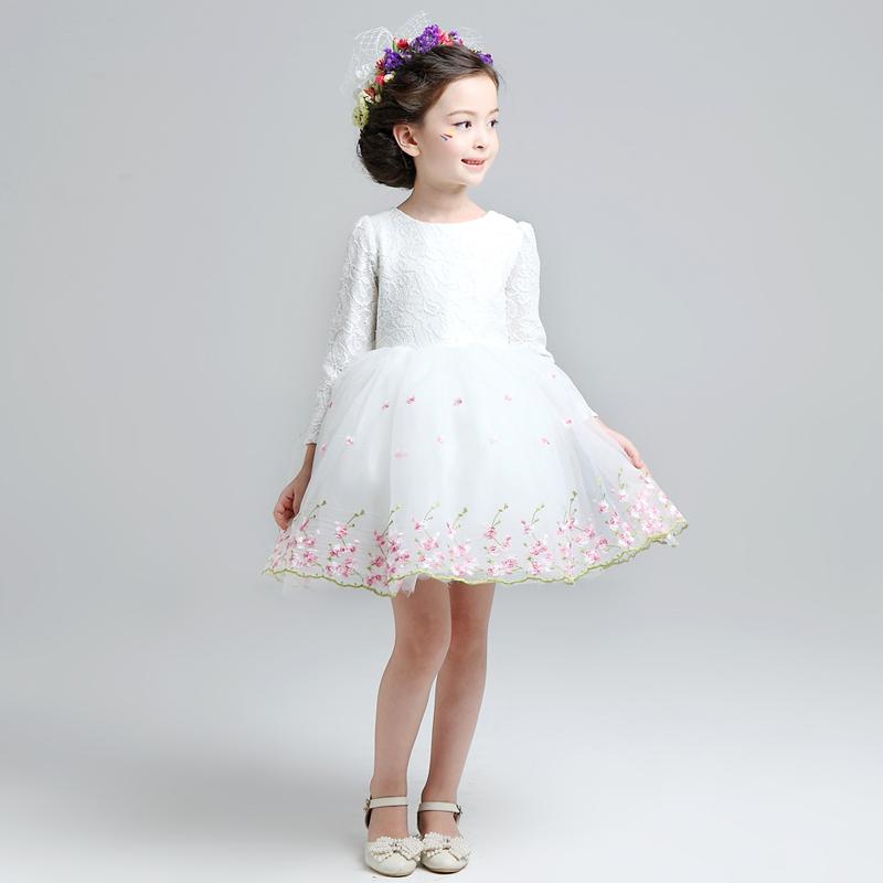 兒童女童寶寶生日連衣裙