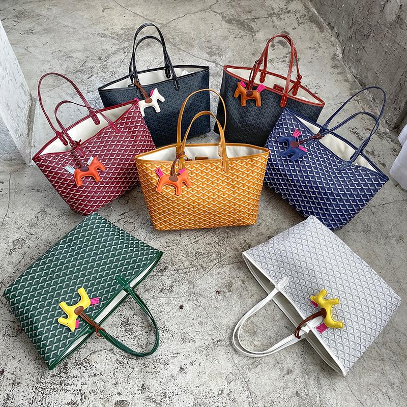 韩国东大门狗牙包正品2020新款潮时尚大容量单肩包手提女包购物袋