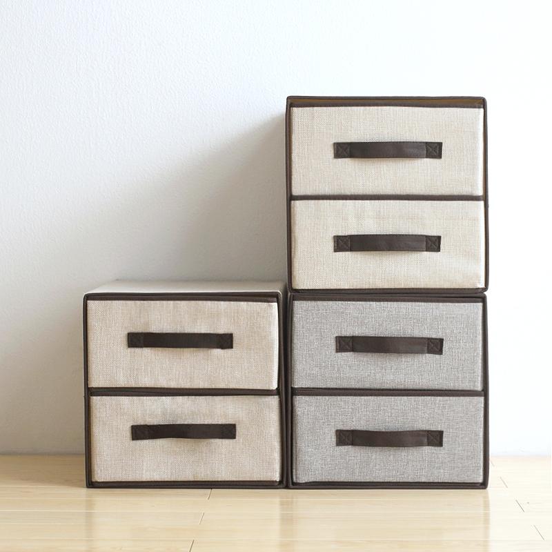 ?#30007;?#20869;衣布衣柜双层抽屉式储物盒无纺布衣物整理箱收?#19978;?#22823;码包邮