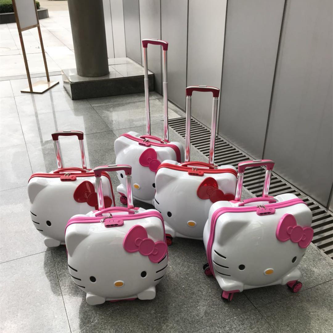 寸万向轮可坐行李箱