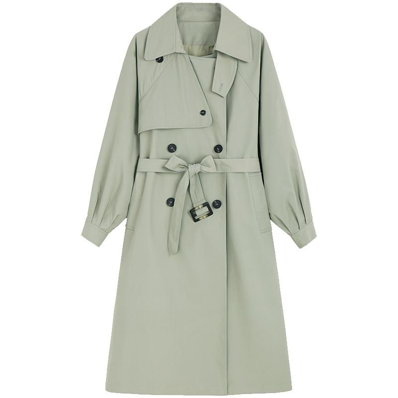 女中长款小个子气质女神范新款风衣使用评测