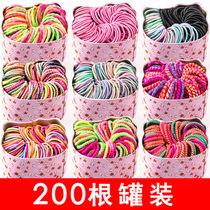 100根头绳网红扎头发橡皮筋高弹力耐用皮套发绳头饰小号发圈发饰