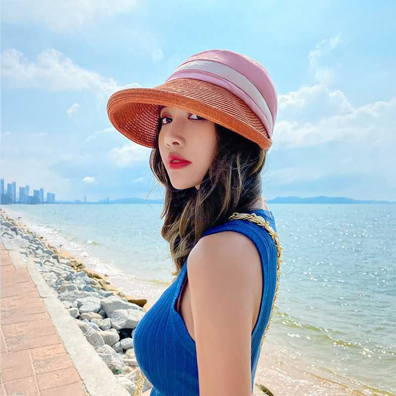 Basin hat Japanese ins net red sunshade hat covers the face