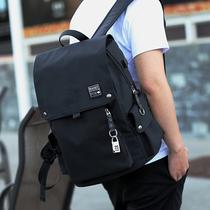 双肩包男韩版大学生街头青年背包校园时尚潮流高中初中学生书包男