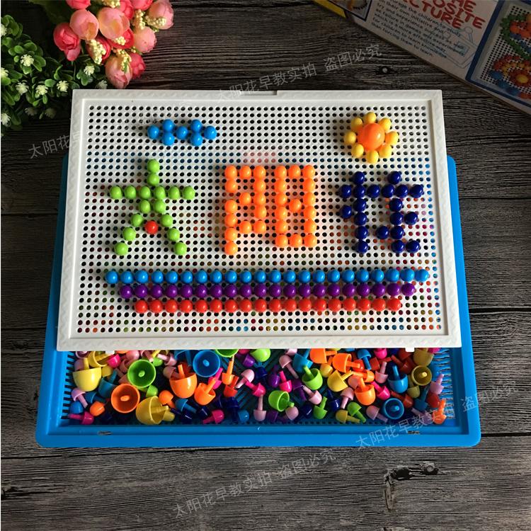 Ребенок ребенок головоломка гриб гвоздь хлопушка головоломки головоломка детский сад большой класс промежуточный малый класс творческий игрушка 2 лет