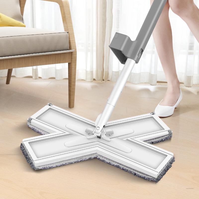 免手洗拖地神器家用瓷砖木地板拖布(非品牌)