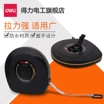Powerful 8218 leather tape measure 30.5-meter meters site House Decoration Basketball Field measurement tool plastic soft Ruler