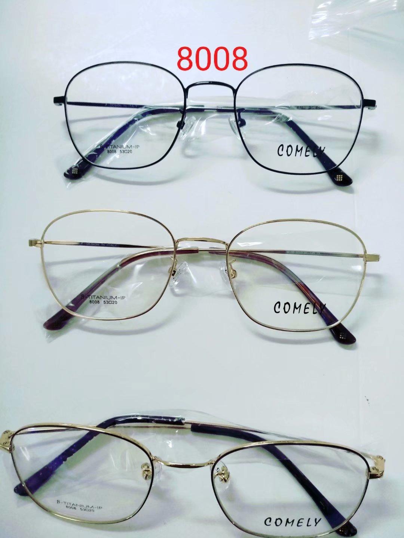 卡米丽-钛架系列 comely-8008超轻镜架 全框 细框镜架 眼镜