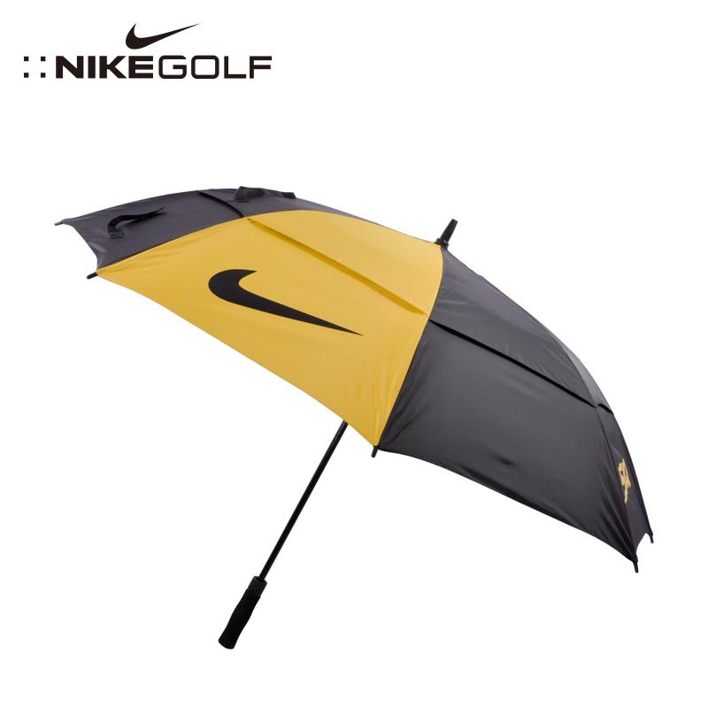 Новые товары гольф двойной слой ветер зонт автоматическая гольф мяч зонт солнцезащитный крем движение негабаритный зонт