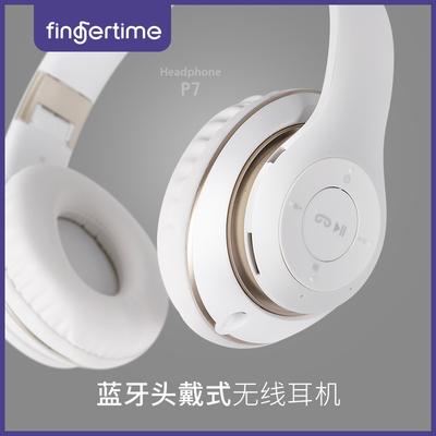 头戴式蓝牙耳机无线运动跑步健身游戏插卡mp3重低音炮耳vivo耳麦