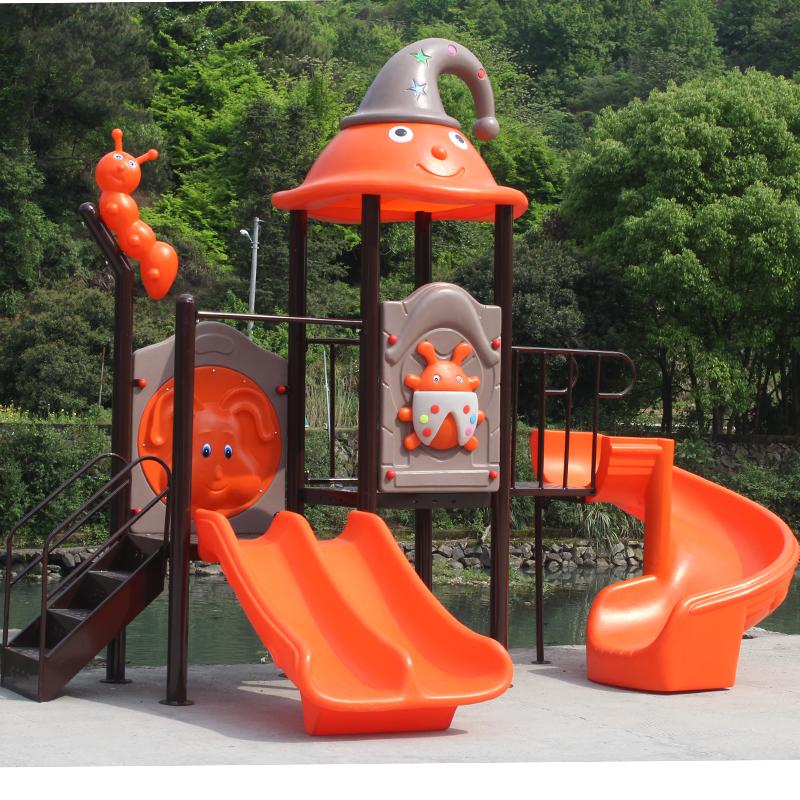 室外幼��@�O施游��鲈O�浯笮�和�滑滑梯�V�鲂�^秋千�M合玩具