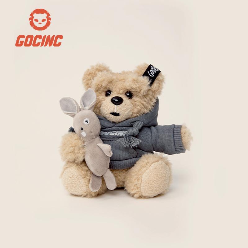 gocinc牛仔熊充电宝10000毫安快充超萌卡通可爱萌宠移动电源女款