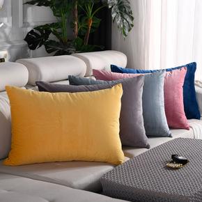 抱枕靠垫套罩沙发客厅靠枕头长方形大号床上靠背抱枕套不含芯定制
