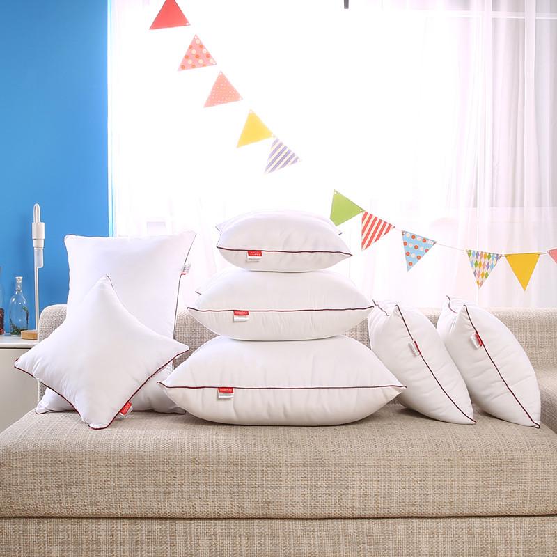 抱枕芯十字绣靠垫芯40 45 50 55 60 65 70正方形沙发靠背靠枕芯子