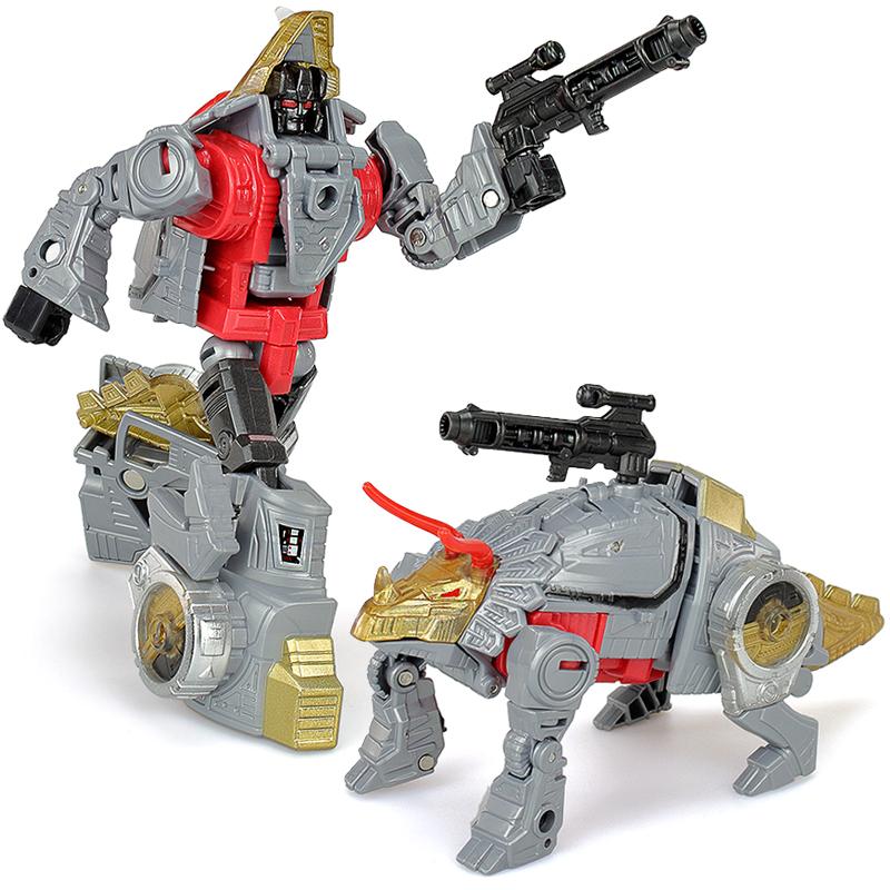 热销0件正品保证变形玩具金刚bpf恐龙铁渣合体模型