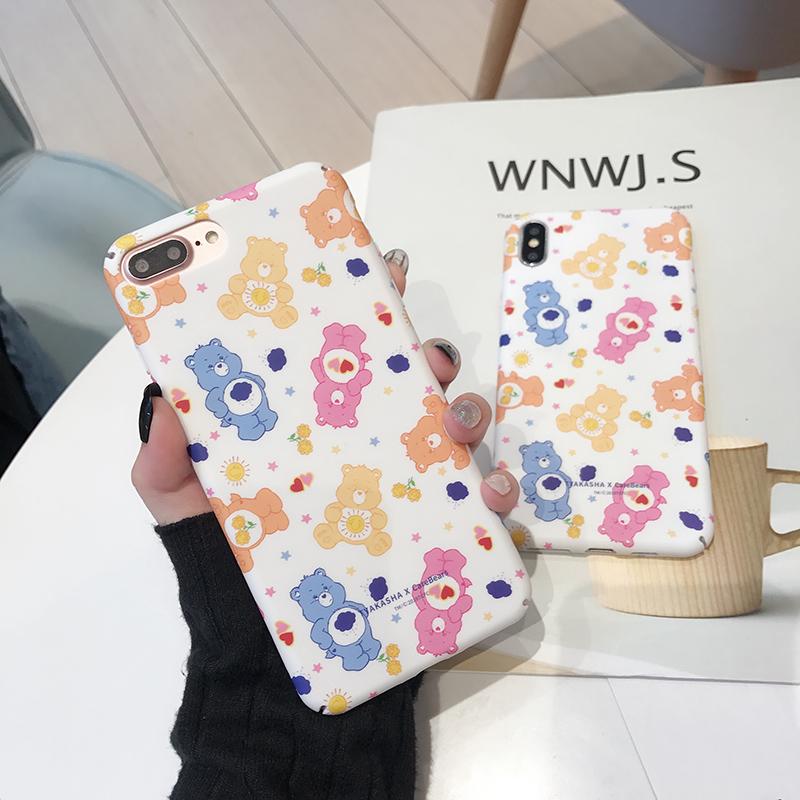 可爱小熊苹果x防摔8plus 6s手机壳券后7.80元