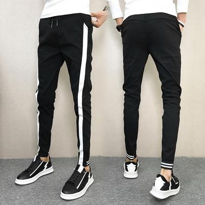 两色 秋装2018男士修身休闲裤小脚长裤508K2288P45