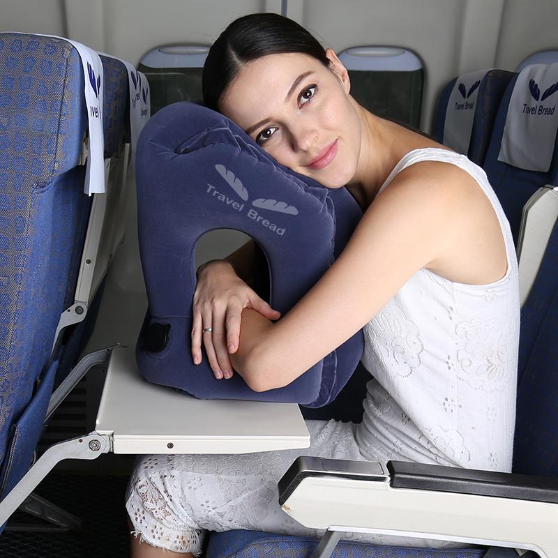 Долго способ самолет путешествие подушка шея подушка газированный U тип подушки портативный u подушка ложиться спать артефакт подушка глава ложь подушка