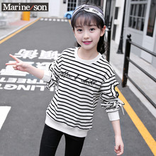 Girls' Spring Long Sleeve T-Shirt 2020 new Korean version of children's wear all kinds of children's tops and bottoms