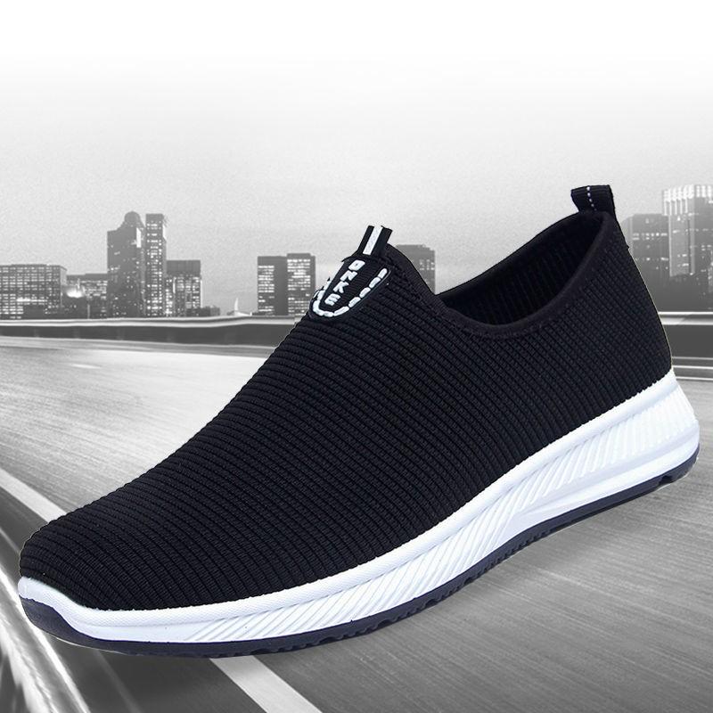 【加厚底片】四季老北京布鞋透气运动时尚休闲防滑男单鞋加绒棉鞋