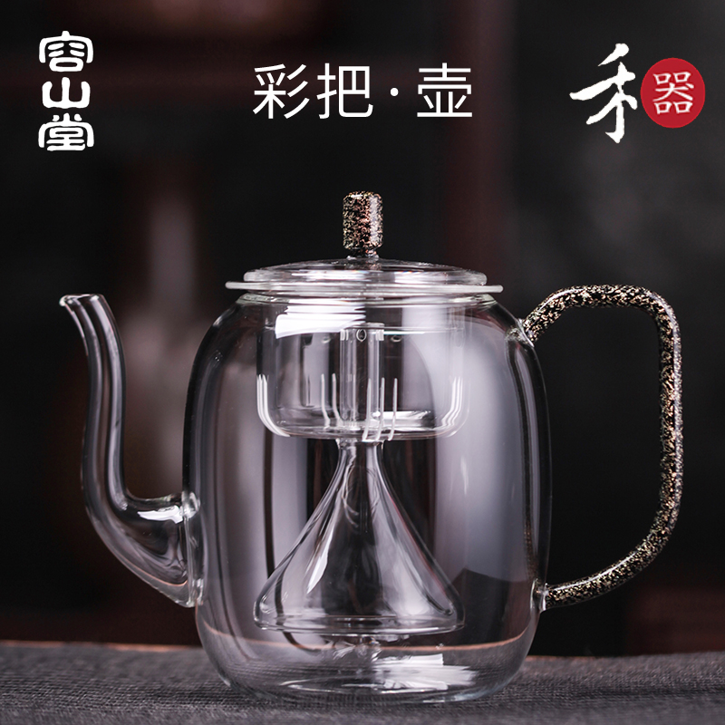 容山堂禾器玻璃蒸汽大容量烧水壶评价好不好